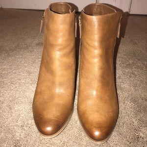 Michael Kors Genuine Denver Leather Bootie Size 11
